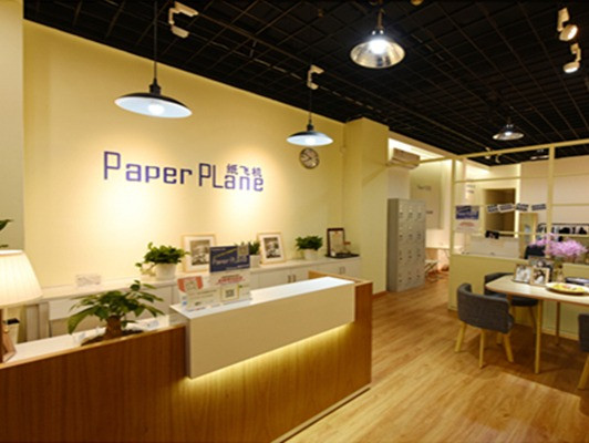 纸飞机精致证件照